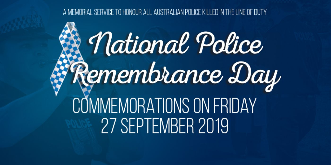 National Police Remembrance Day Nt Police Fire Emergency Services